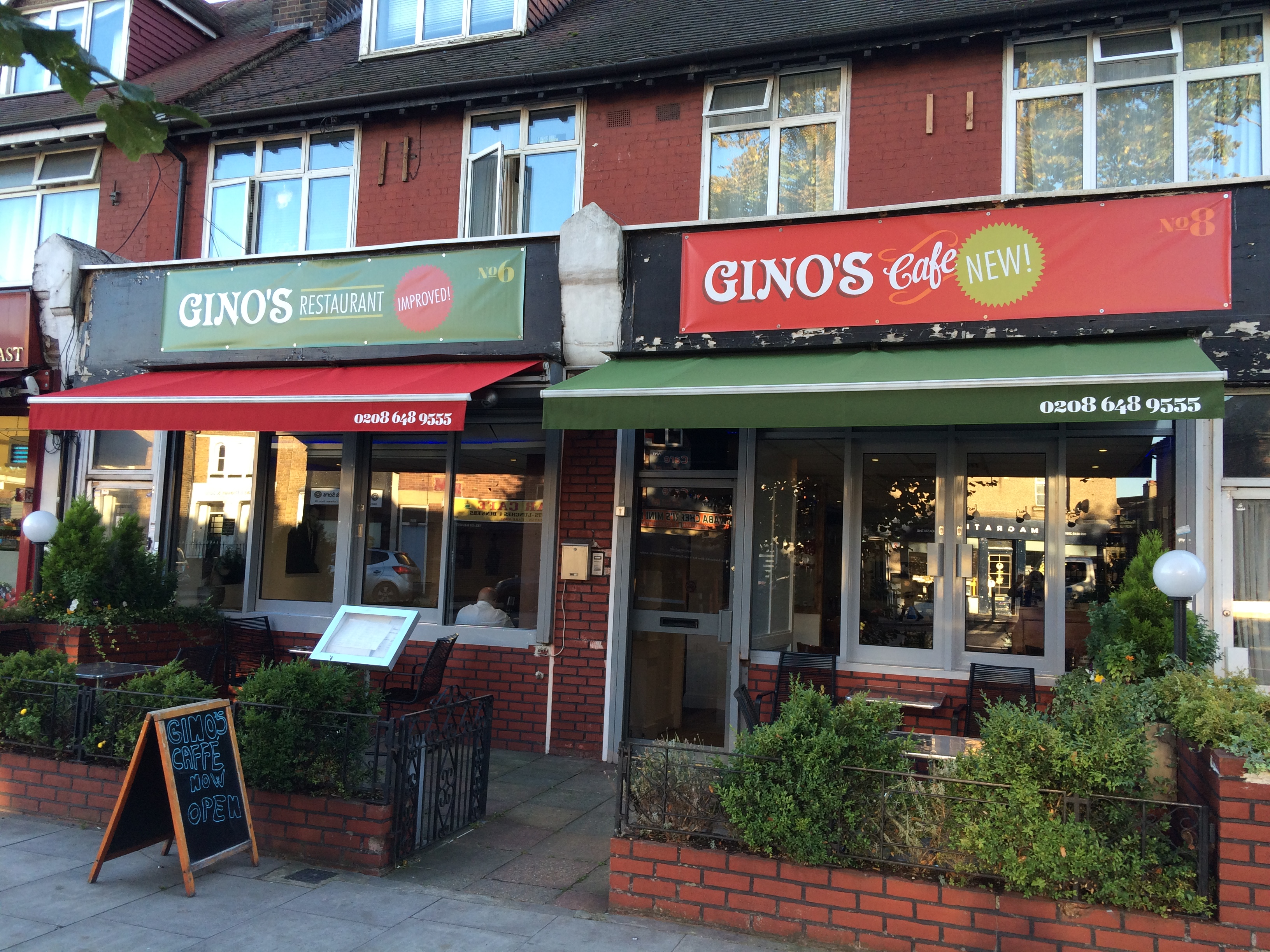Gino's restaurant and cafe